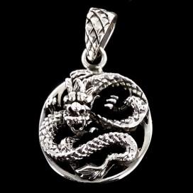 Dragon colgante de plata