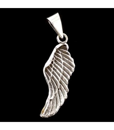 Ala de Angel. Colgante de plata