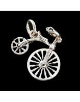 Bicicleta Colgante movil de plata
