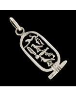 Colgante Jeroglifico Egipcio del plata