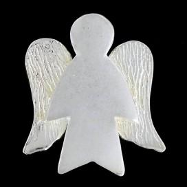 Ángel de plata.