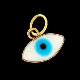 Ojo Turco o Ojo Azul ba¤ado en oro