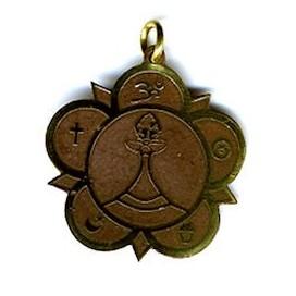 Símbolo de todas las religiones por la paz