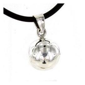 Llamador de los Angeles de plata 925. Colgante