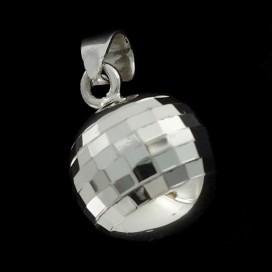 Llamador de los Angeles de plata 925