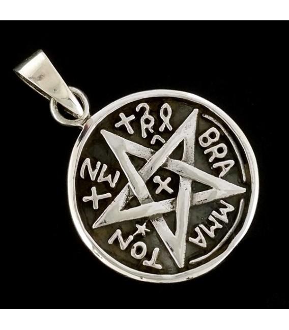 Pentaculo Tetragrámaton de plata