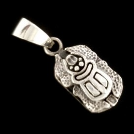 Khepri Dios egipcio de plata