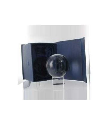 Bola de Cristal 60 mm con peana y caja