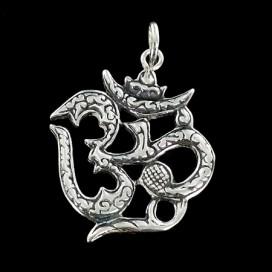 OM La silaba Sagrada (plata)