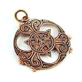 Triskel celta de bronce