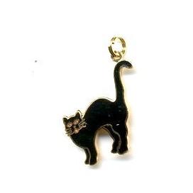 Gato negro. Colgante