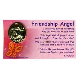 Angel de la Amistad. Pocket Angel