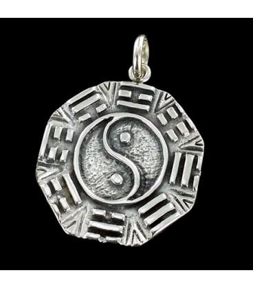 Pa Kua. Yin Yang de plata
