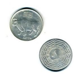 El Buey Horoscopo chino Moneda