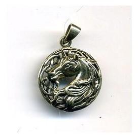 Unicornio Colgante de bronce
