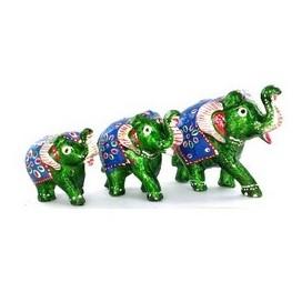 Los Tres elefantes. Figuras