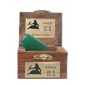 Piedra del horoscopo Virgo Cuarzo Verde