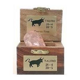 Piedra del horoscopo Tauro  Cuarzo Rosa