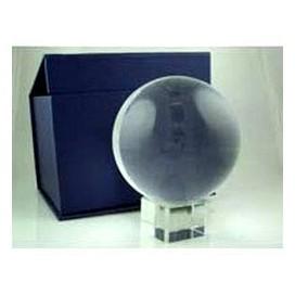 Bola de Cristal 100mm con peana y caja