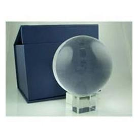Bola de Cristal 80 mm con peana y caja