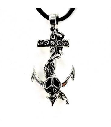 Ancla con Simbolo de la Paz