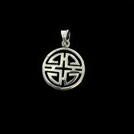 Simbolo de Las Cinco Bendiciones plata