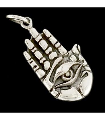 Mano de la Fortuna de plata
