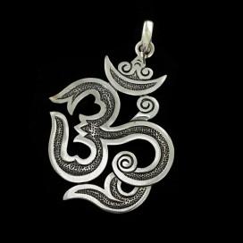 Silaba Sagrada Hindu OM plata