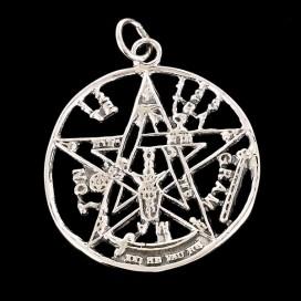 Colgante Tetragramaton. Plata 925