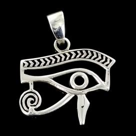 Udjat. Ojo de Horus. Plata