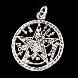 Colgante Tetragramaton. Plata