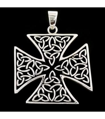 Cruz Templaria con Triquetas