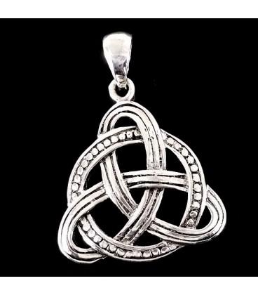 Triqueta Simbolo de la Eternidad. Plata