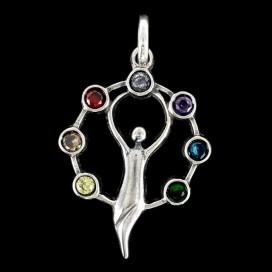 Diosa de la Fertilidad  Colgante de plata