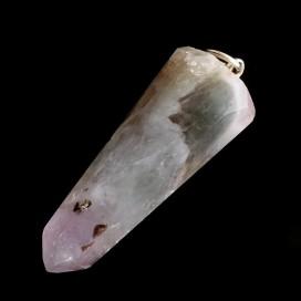 Colgante de Prasiotrino montado en plata