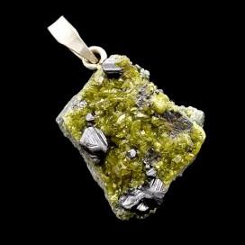 Granate Verde Colgante