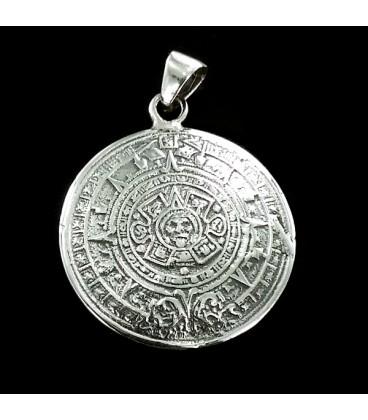La Piedra del Sol Colgante de plata