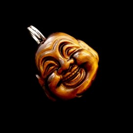 Buda sonriente de Ojo de Tigre