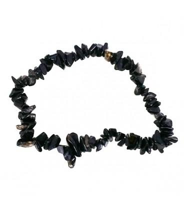 Pulsera de Obsidiana Negra