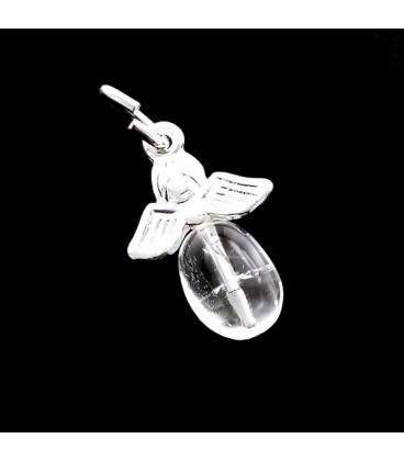 Colgante Angel con punta de cuarzo