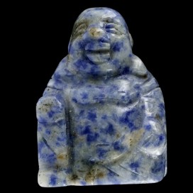 Buda sonriente de Sodalita