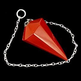 Pendulo de Jaspe Rojo