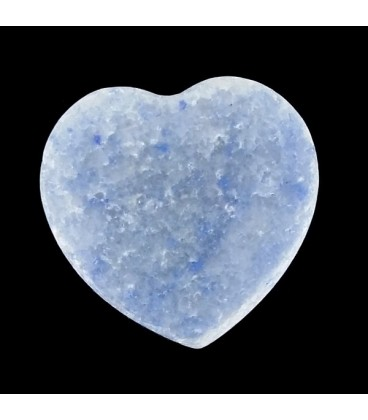 Colgante corazon de Sodalita
