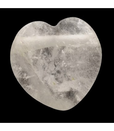 Colgante corazon de Cuarzo