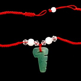La llave Pulsera Feng Shui de jade