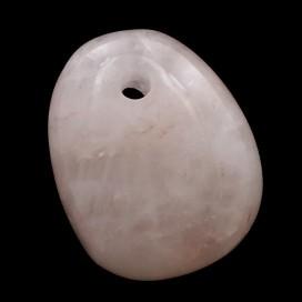 Colgante de Cuarzo Rosa Piedra del horoscopo Tauro