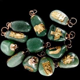 Colgante de Cuarzo Verde
