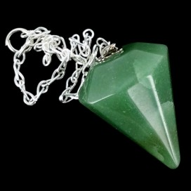 Pendulo de cuarzo Verde