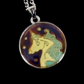 Unicornio cambia de color con tu energia