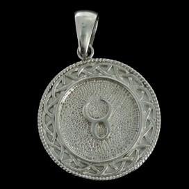 Tauro Colgante astrologico de metal Nebula